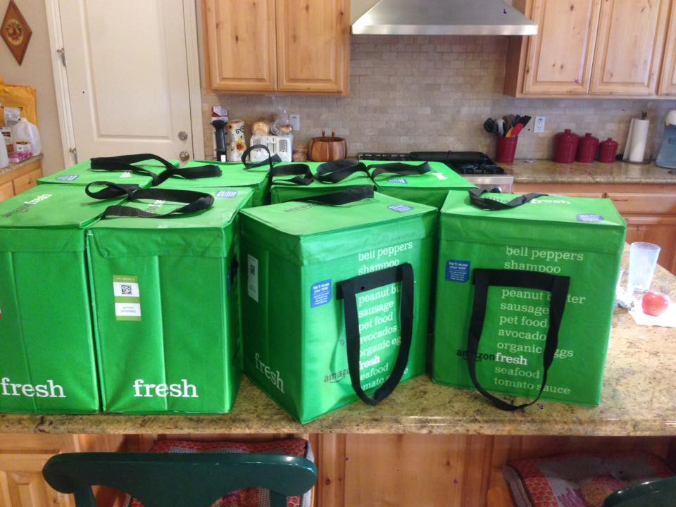 Amazon Fresh Donation