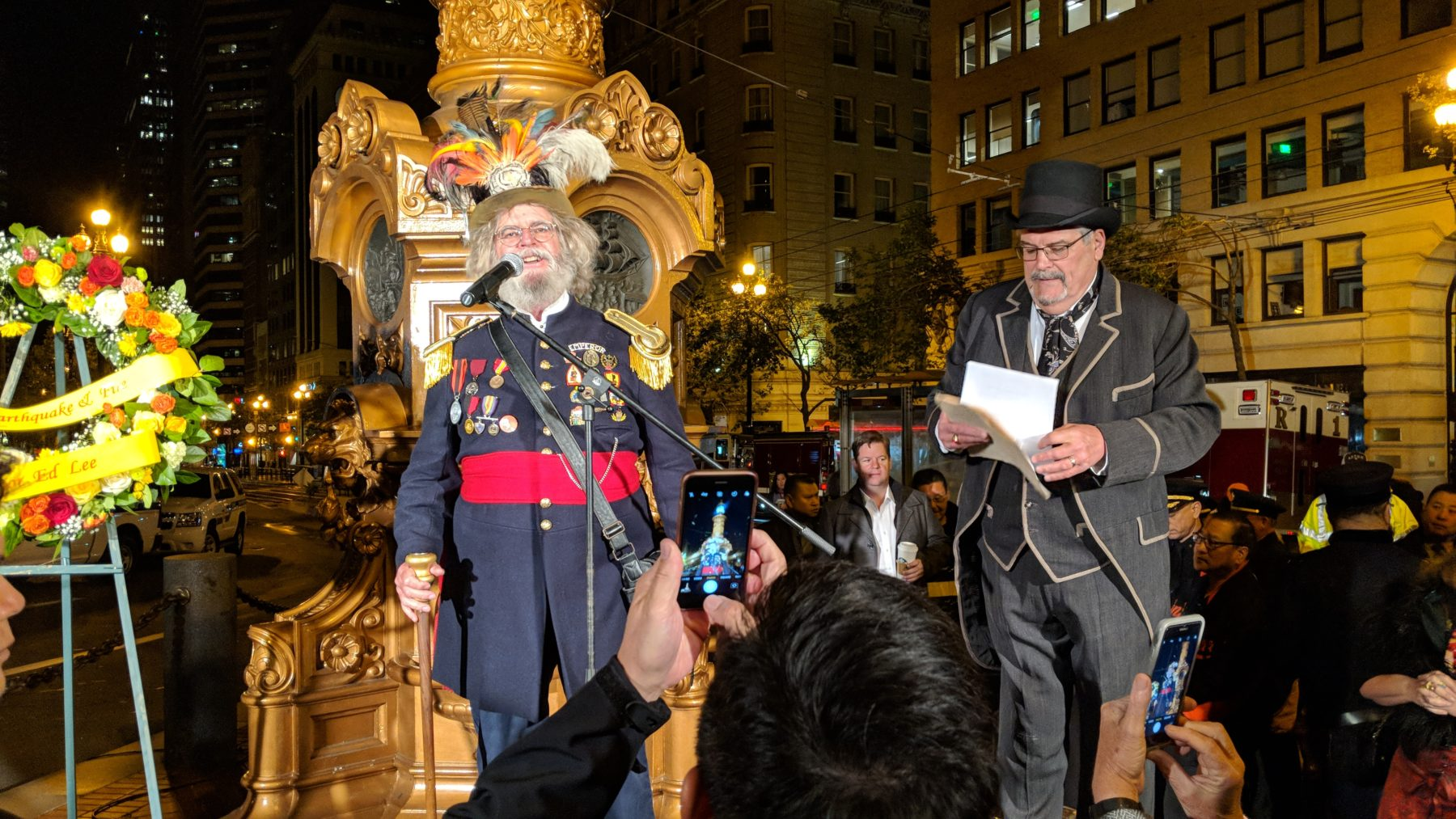 1906 Earthquake Commemoration - 2018